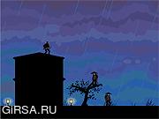 Флеш игра онлайн Промокший Ниндзя