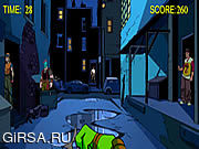 Флеш игра онлайн Черепашки-Ниндзя в детстве - Контрольный Выстрел / Teenage Mutant Ninja Turtles - Shootdown