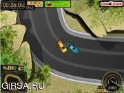 Флеш игра онлайн Ниссан-Гонки