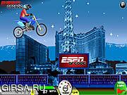 Флеш игра онлайн Отсутствие скачки Moto пределов / No Limits Moto Jump