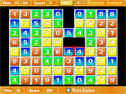 Флеш игра онлайн Матрица цифр / Numatrix