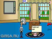 Флеш игра онлайн Обама Увидел / Obama Saw