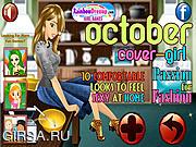 Флеш игра онлайн Октябрьская обложка модного журнала / October Cover Girl