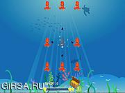 Флеш игра онлайн Осьминог Взрыв / Octopus Blast