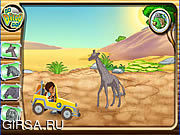 Флеш игра онлайн Diego's African Offroad Rescue
