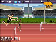 Флеш игра онлайн Олимпиада 2012 / Olympics 2012 Hurdles