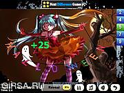 Флеш игра онлайн Найти предметы   - в ночь на Хэллоуин