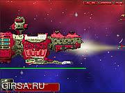 Флеш игра онлайн Битва на орбите