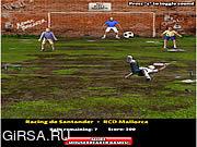 Флеш игра онлайн Overhead Kick Champion