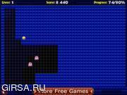 Флеш игра онлайн Pac Xon Deluxe