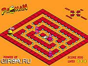 Флеш игра онлайн з-О Pacman / Mr. Pacman