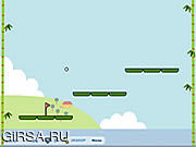 Флеш игра онлайн Гольф панды 2
