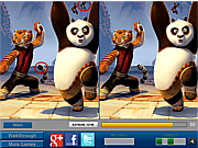 Флеш игра онлайн Panda and Friends Difference