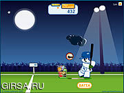Флеш игра онлайн Бейсбол панды / Panda Baseball