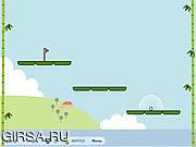 Флеш игра онлайн Панда Гольф 2