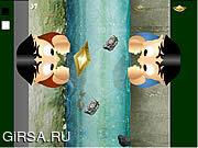 Флеш игра онлайн Paper Boat Blowing