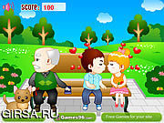 Флеш игра онлайн Поцелуй парка / Park Kiss