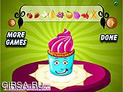 Флеш игра онлайн Партии Кубок торт декора