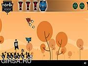 Флеш игра онлайн Приключения племени Патапон
