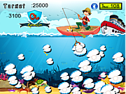 Флеш игра онлайн Жемчужина в море / Pearl Hun in Sea