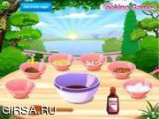 Флеш игра онлайн Пирог с орехами