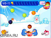 Флеш игра онлайн Penguin Ice Cream