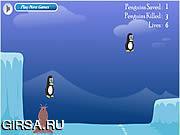 Флеш игра онлайн Спасение пингвина / Penguin Rescue