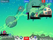 Флеш игра онлайн Опасные ракеты