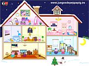 Флеш игра онлайн Домик для Свинки Пеппы