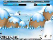 Флеш игра онлайн Perang Penguin