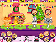 Флеш игра онлайн Забота о питомцах / Pets Daycare