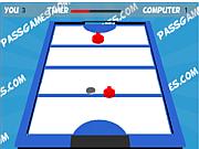 Флеш игра онлайн Аэро хоккей