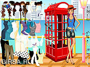 Флеш игра онлайн Phonebooth Dress Up