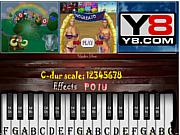 Флеш игра онлайн Игра на пианино