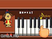 Флеш игра онлайн Шла Собака по Роялю