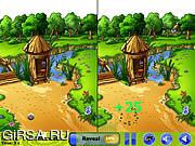 Флеш игра онлайн Пикник - пятно разница / Picnic - Spot the Difference