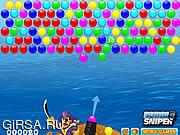 Флеш игра онлайн Пираты Пузыри
