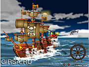 Флеш игра онлайн Pirate Ship