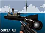 Игра Foxy Sniper - Pirate Shootout