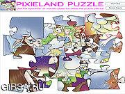 Флеш игра онлайн Головоломка Pixieland