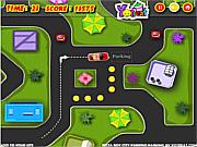 Флеш игра онлайн Pizza Boy City Parking