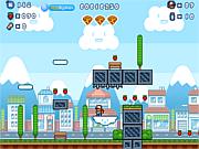 Флеш игра онлайн Мальчик Пицца. Супер версия / Pizza Boy Super Version