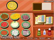 Флеш игра онлайн Магазин пиццы