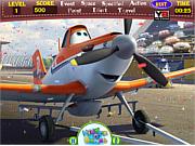 Флеш игра онлайн Самолеты скрытые слова, / Planes Hidden Words