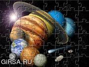 Флеш игра онлайн Planets Jigsaw