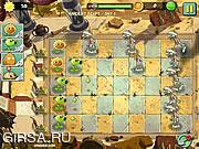 Флеш игра онлайн Зомби против Растений 2