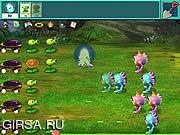 Флеш игра онлайн Растения против Пришельцев