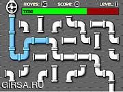 Флеш игра онлайн Сантехник / Plumber