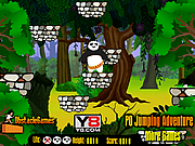 Флеш игра онлайн Приключения прыгающего По / Po Jumping Adventure