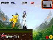 Флеш игра онлайн Pokemon Run